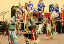 Native American Dancers in Annual Powwow at UTA