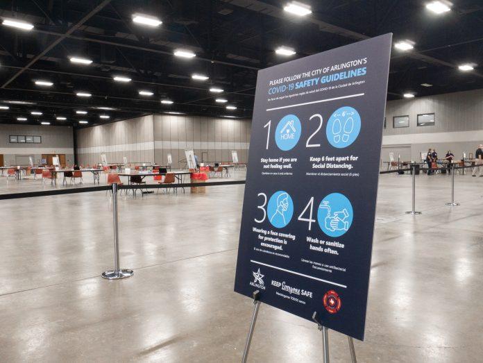 COVID-19 Vaccine comes to Arlington, Texas